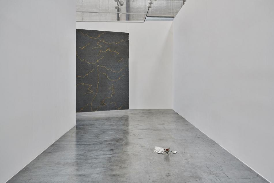 12 ste phanie saade the encounter of the first and last particles of dust grey noise gallery dubai